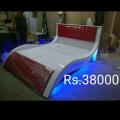 Deco wood desinger bed