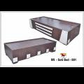 Storage bed single