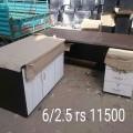 Office table size 6/2  baroda