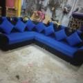 Sofa in blue colour