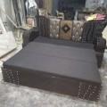 Sofa cum bed wooden
