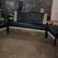 Folding metal sofa 3+1+1 model B01