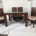 Dinning table 4 seater saag wood
