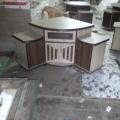 Corner half tv unit rs 4500 in Ahmedabad