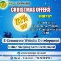"""Christmas offer"" Ecommerce Website Development(Shopping Cart)"