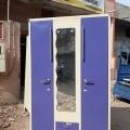3 door metal tijori