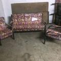 3+1+1 sofa metal