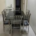 Steel dinning tabel