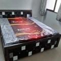 Plywood bed  designer