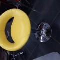 Bar stool with hydrolic