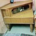 Tv corner wooden