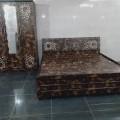 Bedroom set in heavy design