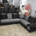 New puffy corner sofa