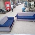 Blue grey 3+2 sofa set