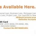 Loans & creditcard
