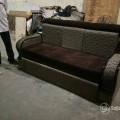 Fiber handle sofa cum bed