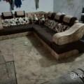 New pattern corner sofa set.