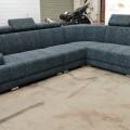Hydroling corner sofa set.