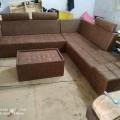 Latest corner sofa set.