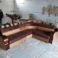New latest designs corner sofa set.