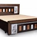 Woodan bed king size