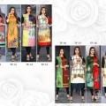 Textile Fab Printed Crepe kurti