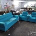 3+1+1 sofa set blue colour
