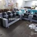 3+1+1 sofa set with pillows