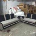 3+2 sofa set near satellite