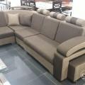 Corner sofa jute material