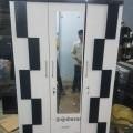 Block design 3 door wardrobe