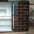 6x6 plywood slider wardrobe