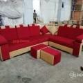 Puffy handle corner sofa near Hari nagar