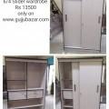 6x4 slider wardrobe