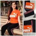 Lower & tshirt  puma Combo
