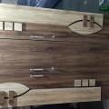 3 door wooden kabat, glossy ply