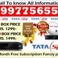 Buy Now Tata Sky New HD/SD Box Dish tv tatasky & Airtel tv