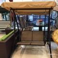 Garden 2 seater canopy swing/jhula