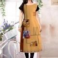 Attractive trendy American crepe printed womens kurtis