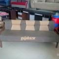 Visitor sofa with saag wood frame