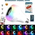 LED Bullb With Speaker Bluetooth