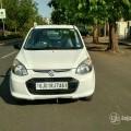 Car:- Alto 800 (white)