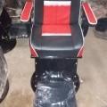 Salon chair with big legrest