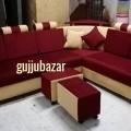 Corner sofa with puffy near Bhatar