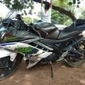 R15 bike petrol tik tok condision