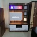 6x4 tv unit with Led lights
