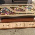 3 drawer center table