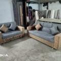 3+2 sofa exotic back ,