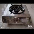 Gas stove with single burner