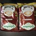Machine coffee powder